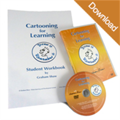 Cartooning for Learning with Student Workbook Package